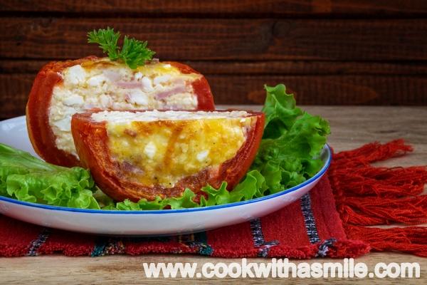 пълнени домати на фурна предястия основни ястия