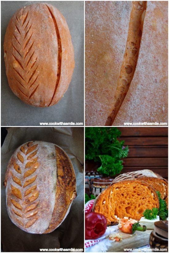 разрези на тестото преди печене