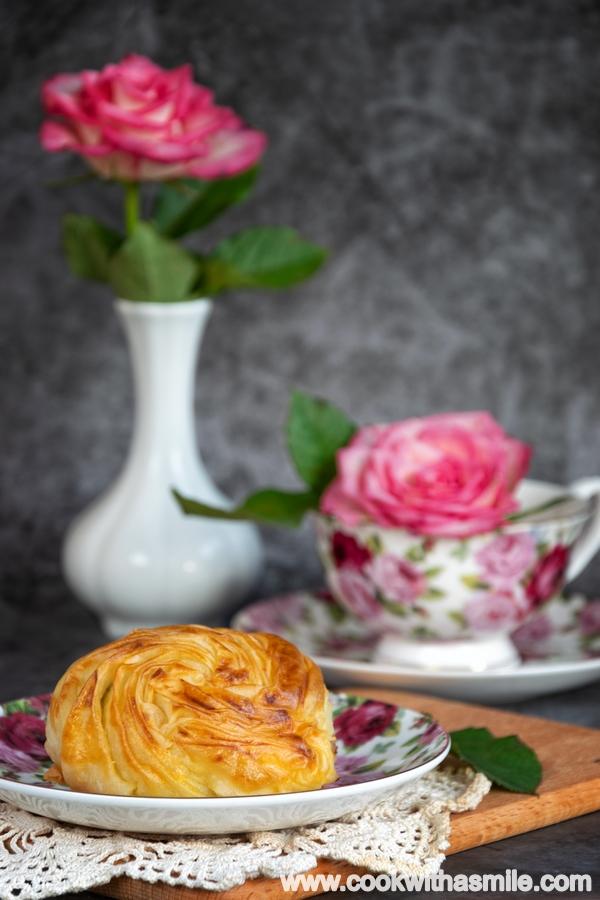 как се правят банички розички с точени гюл бюрек