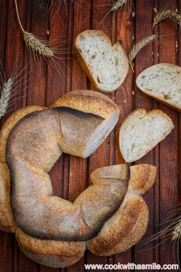 рецепта и оформяне на Френски хляб Короната на Бордо