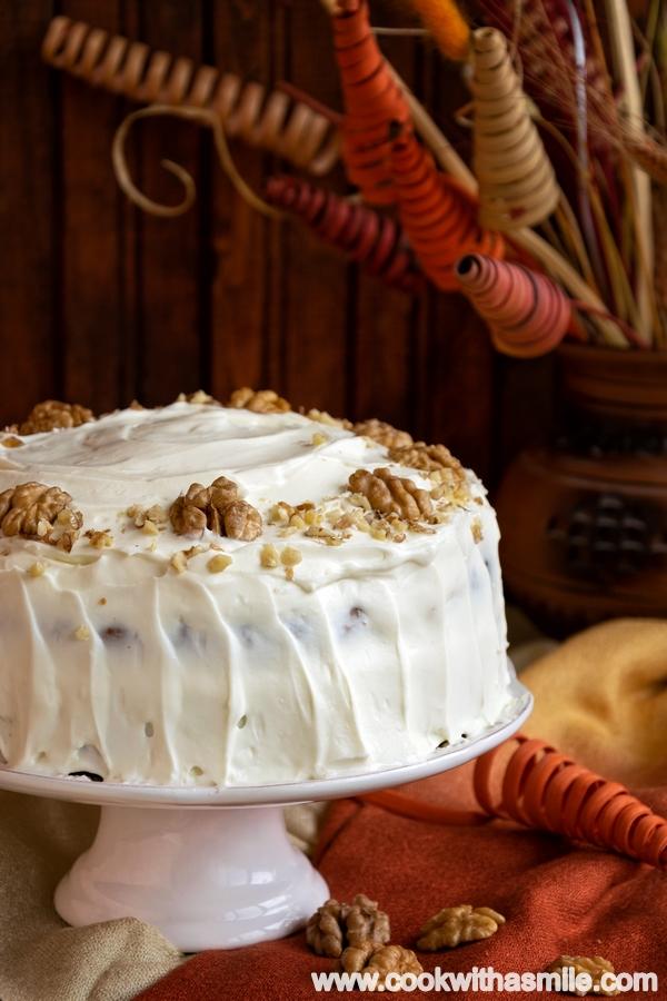 морковена торта с излишен квас