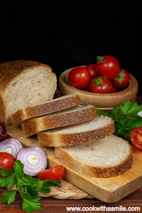 мек тостерен хляб за сандвичи с квас