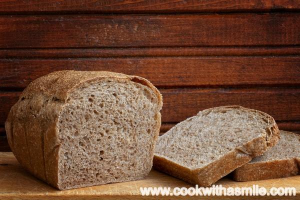 тостерен хляб с пълнозърнесто брашно