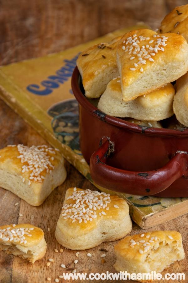 бързи соленки с крема сирене