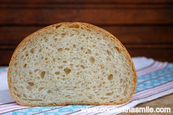 бял заводски хляб с квас