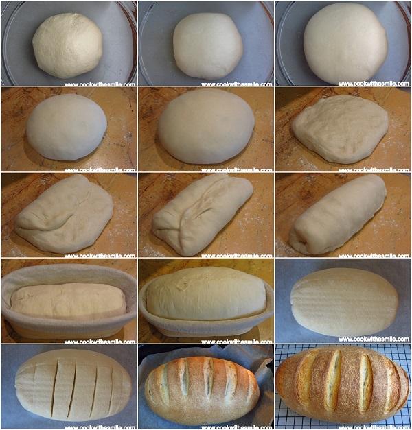 домашен хляб с квас тип заводски стъпка по стъпка