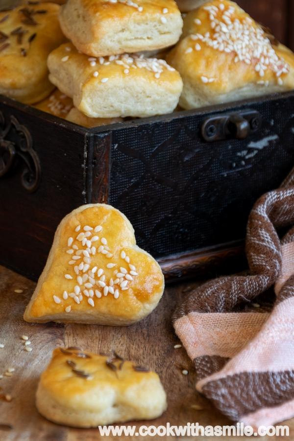 соленки с крема сирене рецепта