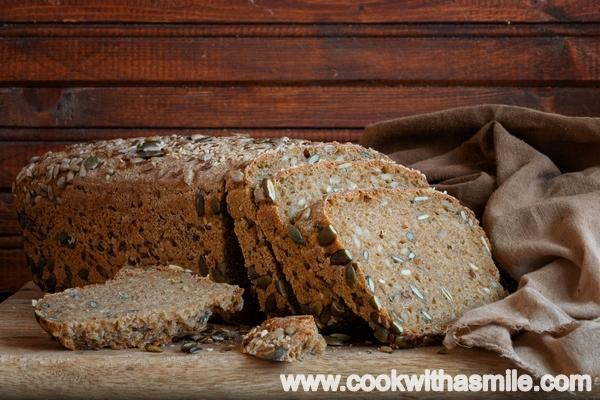 хляб с брашно от лимец и квас