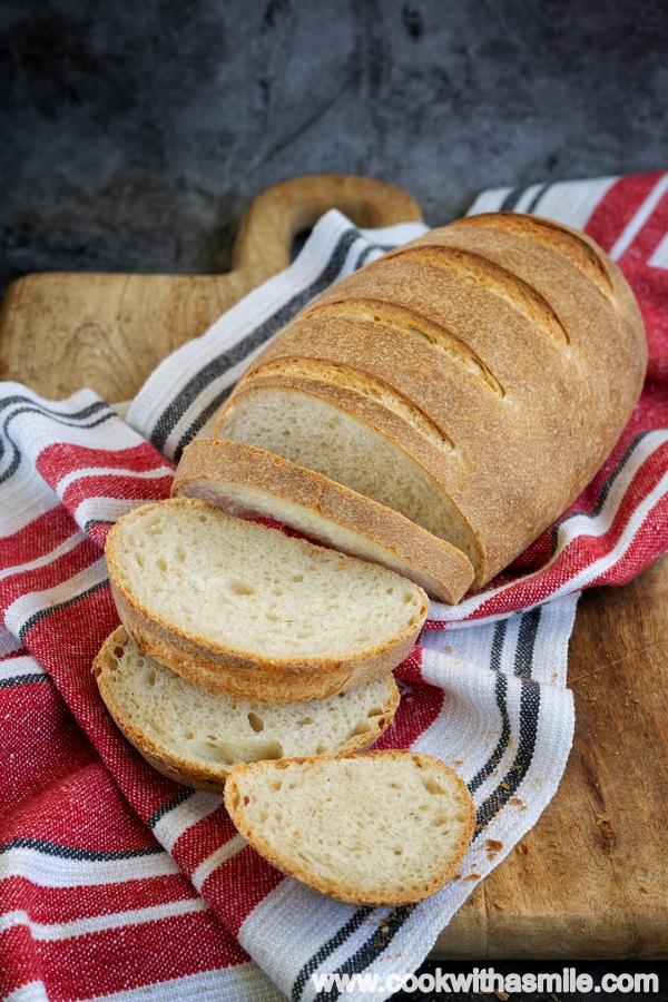 хляб с квас тип заводски рецепта