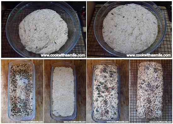 рецепта за хляб с лимец и семена стъпка по стъпка