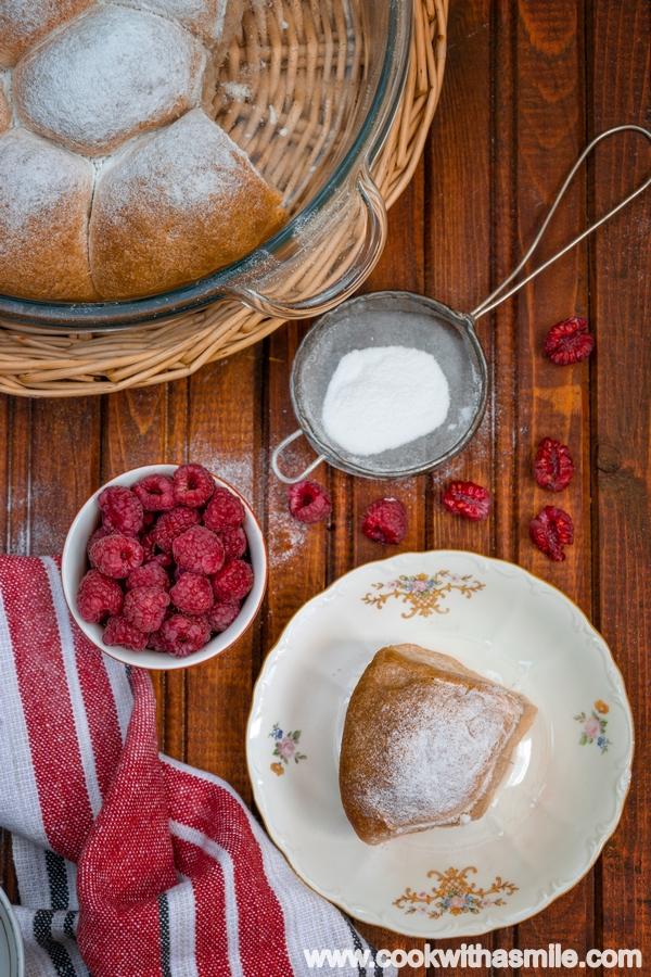 рецепта за печени бухти с квас