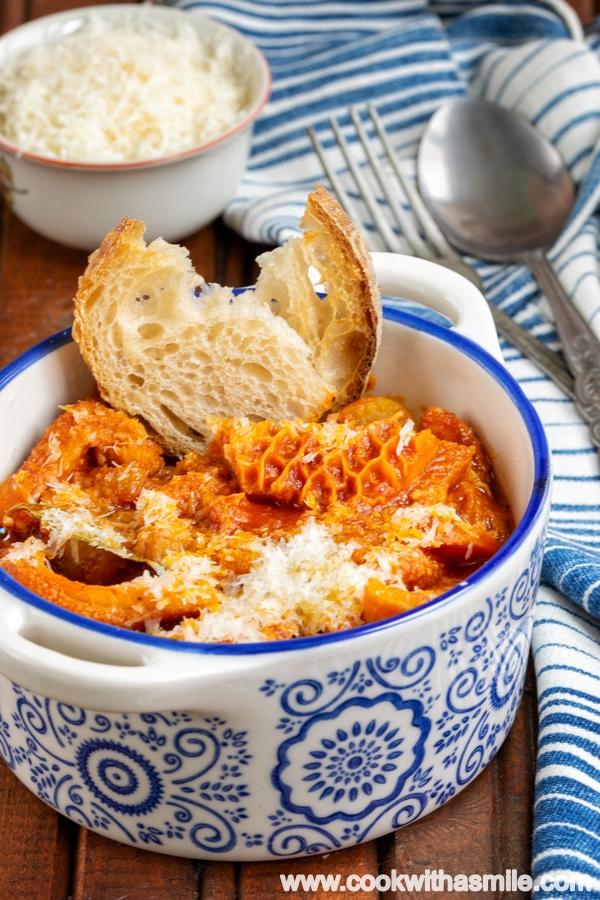 шкембе с доматен сос рецепта