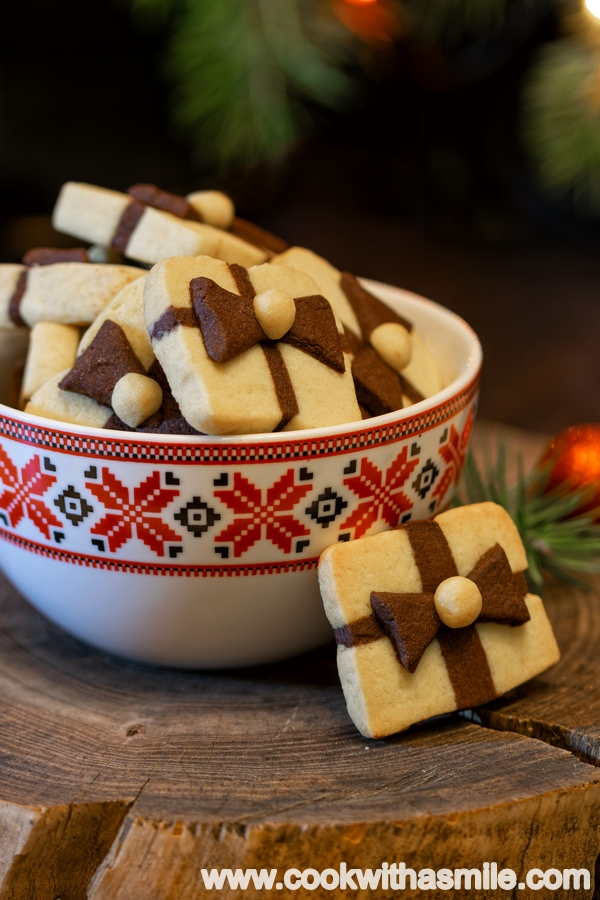 маслени бисквити коледен подарък