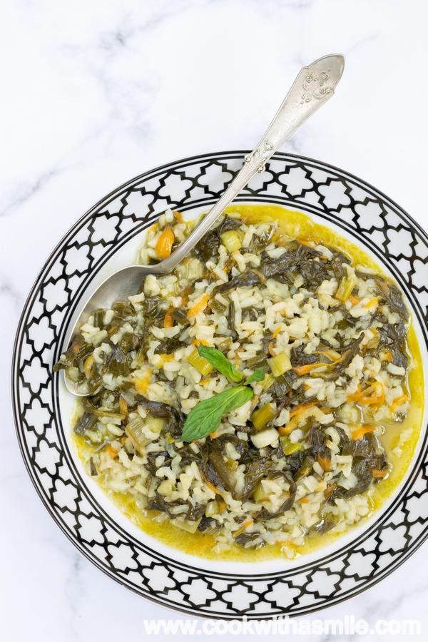 лесна рецепта за лапад с ориз