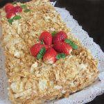 Торта Наполеон бутер тесто