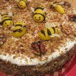 Медена торта Бижу