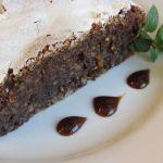 Торта Капрезе шоколад бадеми
