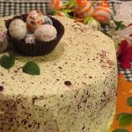 торта за Великден пъдпъдъче яйце
