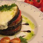 патладжан домати и моцарела
