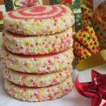 коледни маслени бисквити спирали