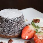 шоколадов лава кейк