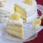кокосова торта с лимони