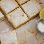 лимонови блокчета маслено тесто