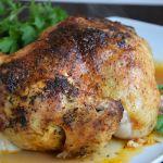 пълнено пиле с бекон и топено сирене