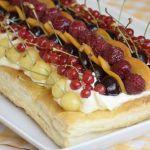 плодов тарт с бутер тесто