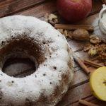 лесен ябълков кекс