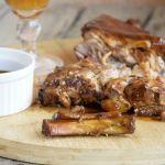 свински ребра с барбекю сос