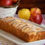 ябълков кекс с масло