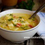 постна картофена супа