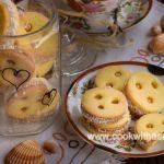 маслени бисквити с карамелено кокосов крем