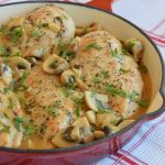 пилешка-пържола-с-гъбен-сос